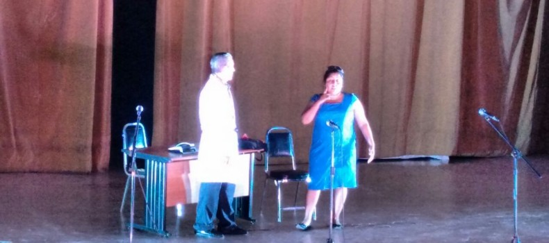 Grupo Teatral Ataes presenta la Obra ¿La Novia… o la Yegua?