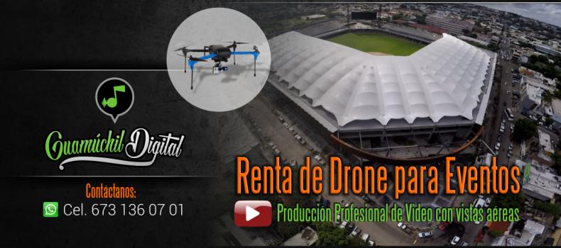 Renta de Drones para eventos