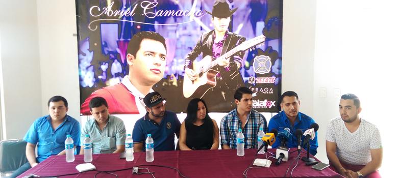Homenaje a Ariel Camacho en Guamúchil