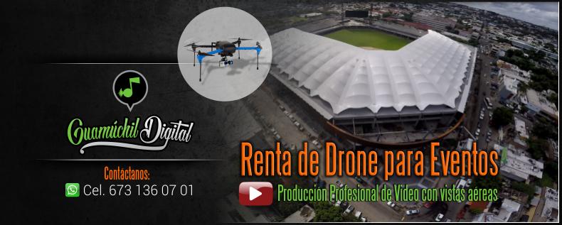 Renta de Drone en Guamúchil