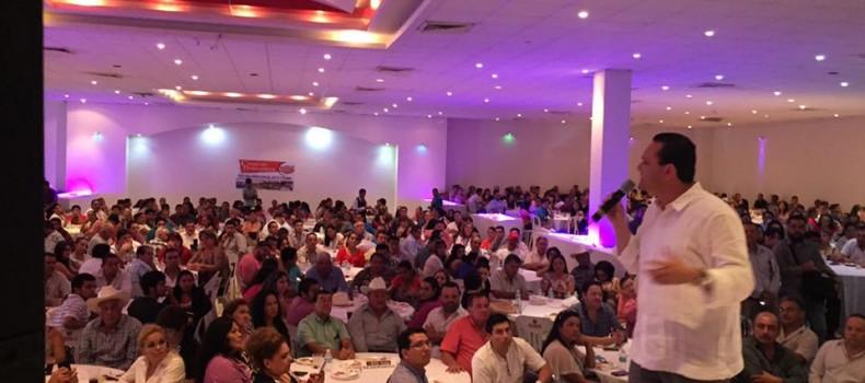 """""""Al 100 x Sinaloa"""", voy con todo por la candidatura: Sergio Torres Félix"""