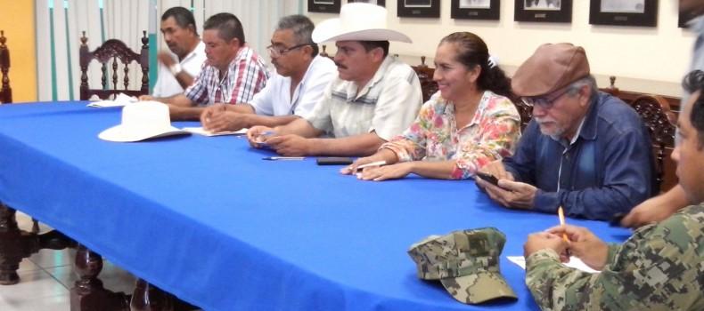 """""""SANDRA"""" pegaría entre Angostura y Guasave… José Ángel Castro Rojo instala el comité de Protección Civil"""
