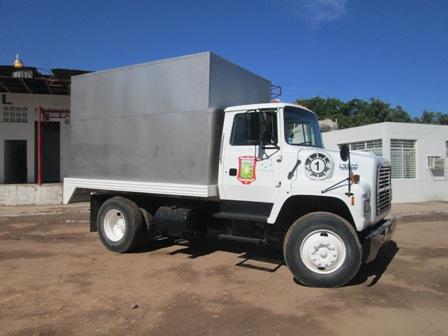 El rastro ya cuenta con camión para el transporte de carne