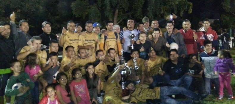 Mocorito -Systecom campeón inivcto del Futbol categoría Super Veteranos
