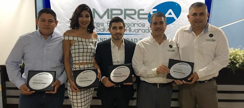 Guamúchil Digital recibe Galardón como JEMPRESARIO MODELO