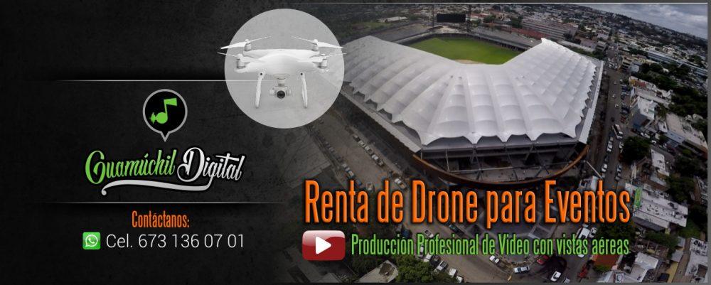 Drone para eventos