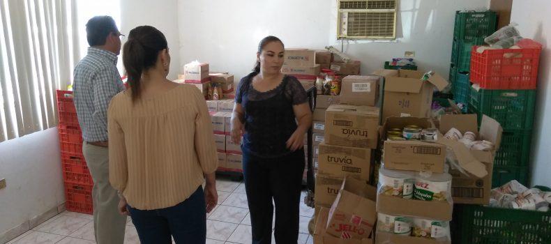 ATIENDE EL BANCO DE ALIMENTOS DE GUAMUCHIL A 3 MIL 500 PERSONAS EN LA REGIÓN