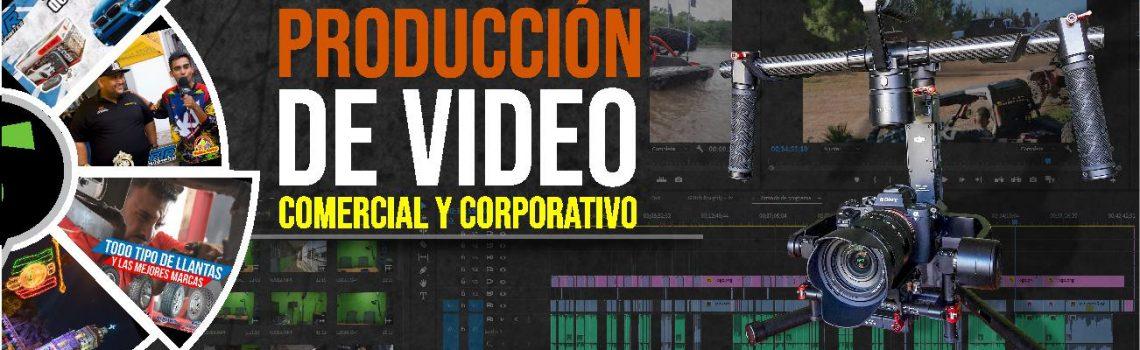 PRODUCCIÓN DE VÍDEOS COMERCIALES