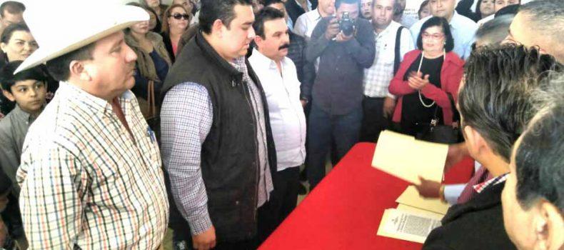 Busca Oscar Camacho candidatura del PRI a la alcaldía de Mocorito