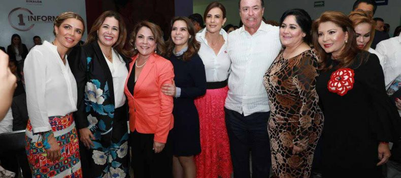 """Rosy Fuentesanuncia durante el Informe de Actividades de DIF Sinaloa la campaña """"Te Queremos Sana"""""""