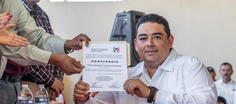 """Vamos a recuperar Mocorito"": Óscar Camacho"