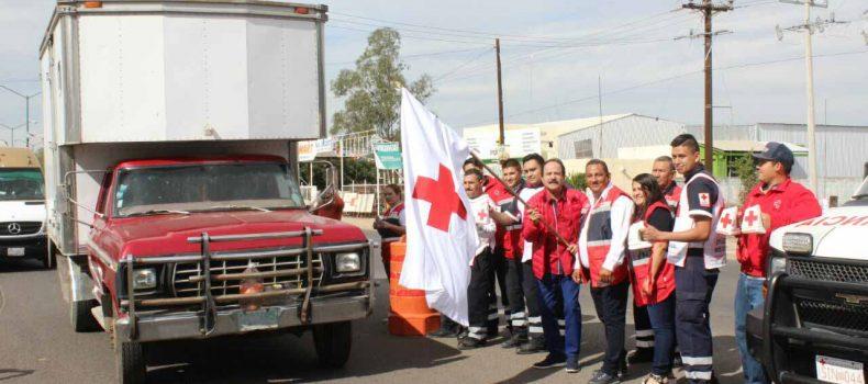 INICIA COLECTA DE CRUZ ROJA EN ANGOSTURA: VAN POR 500 MIL PESOS