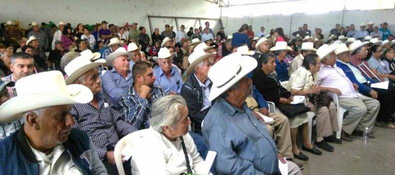 ENTREGAN MAS DE 4 MDP A CACAHUATEROS DE MOCORITO DEL SEGURO CATASTROFICO