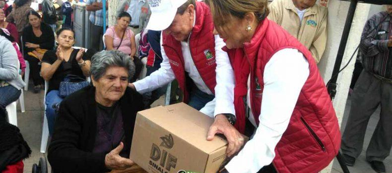 ENTREGA EL SISTEMA MUNICIPAL DEL DIF MIL 905 DESPENSAS A GRUPOS VULNERABLES