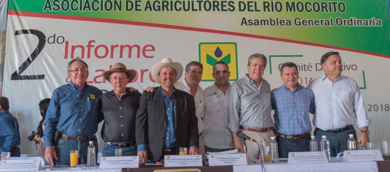 RINDE AURELIO LUGO, SEGUNDO INFORME AL FRENTE DE AARM; EXIGE REPLANTEAR POLÍTICA AGRÍCOLA