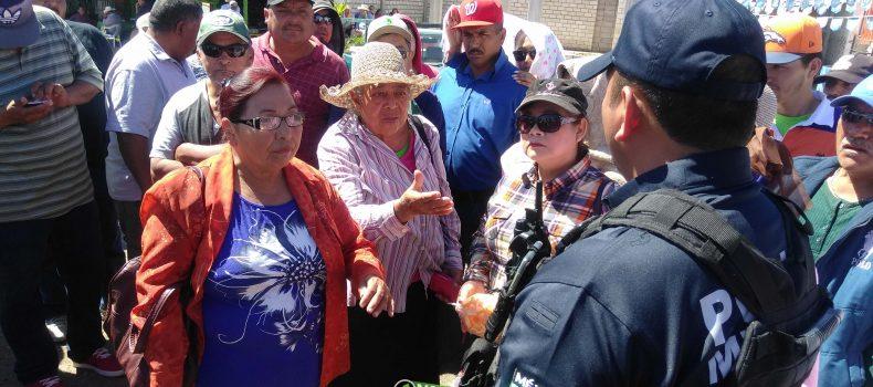 POLICÍA IMPIDE TOMA DE CASETA DE ALHUEY: HABRÁ MESA DE DIALOGO EN BUSCA DE SOLUCIÓN