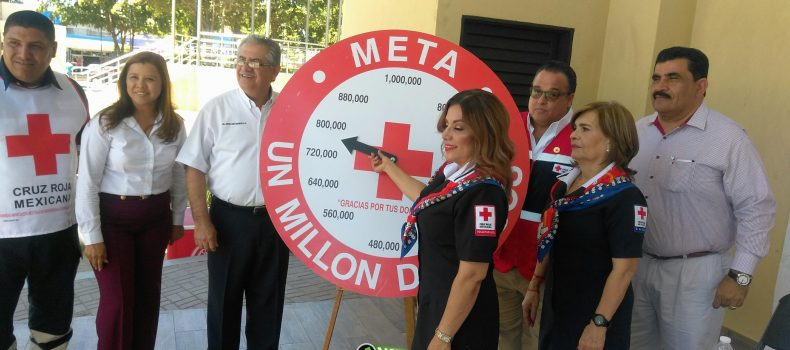 ALCANZA COLECTA DE CRUZ ROJA GUAMÚCHIL LOS 788 MIL 500 PESOS DE UNA META DE UN MILLON