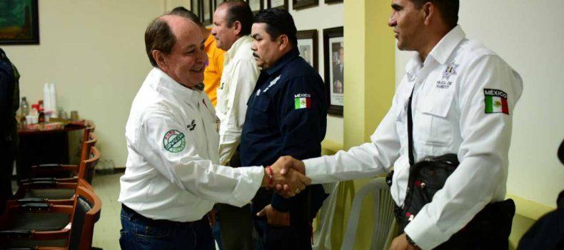Coordinan autoridades policíacas Operativo Semana Santa 2018