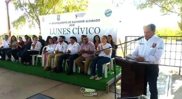 """COMPROMETE APOYO ALCALDE FLAVIO SANCHEZ A LA ESCUELA PRIMARIA """"SALVADOR ALVARADO"""""""
