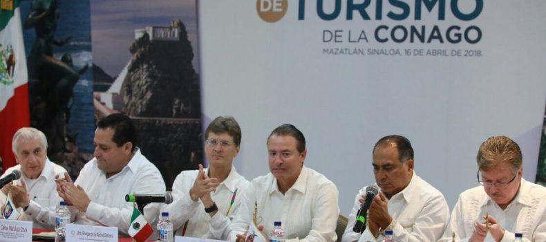 Se reúne la Comisión de Turismo de la Conago en el Tianguis Turístico