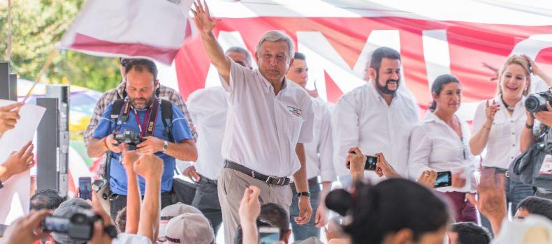 """ASEGURA ANDRES MANUEL LÓPEZ OBRADOR QUE TIENE LA PRESIDENCIA DE MÉXICO """"EN LA BOLSA"""""""