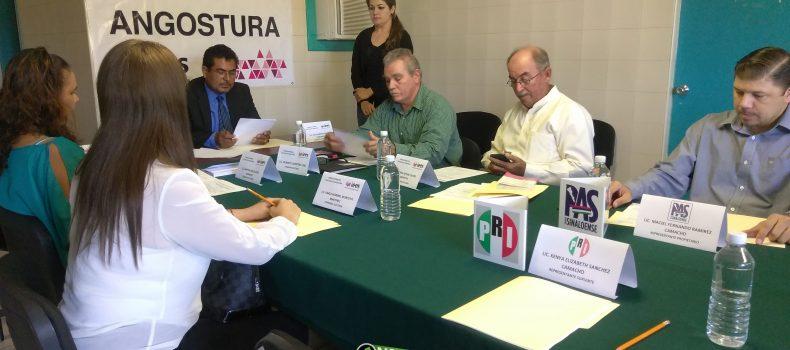 SIN PRECISAR PARTIDOS FECHA DE REGISTRO DE CANDIDATOS A DIPUTACIONES Y ALCALDÍAS
