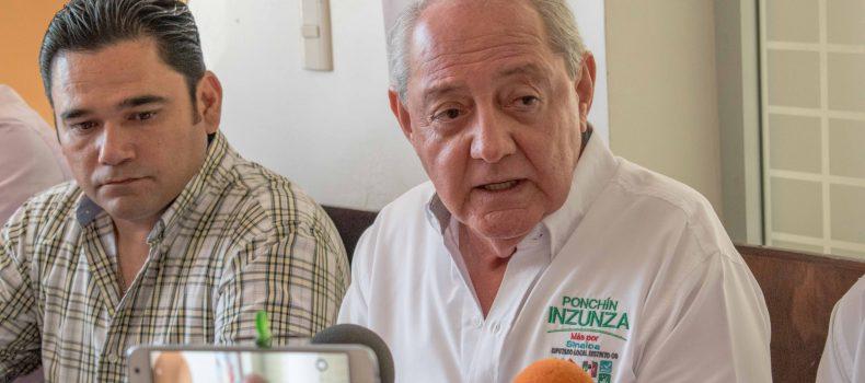 """CAPACIDAD, EXPERIENCIA Y BUENOS RESULTADOS OFRECE ALFONSO """"PONCHIN"""" INZUNZA"""