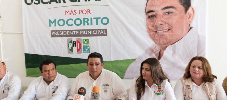 VOY POR LA UNIDAD DE MOCORITO  Y LA RECUPERACION DE LA PRESIDENCIA: OSCAR CAMACHO