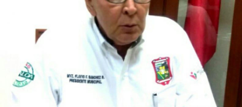 SE MANTENDRÁN VENDEDORES FORANEOS HASTA EL DÍA 16, ASEGURA EL ALCALDE FLAVIO SANCHEZ