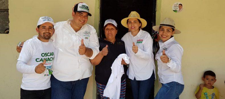 San Benito refrenda apoyo a Oscar Camacho