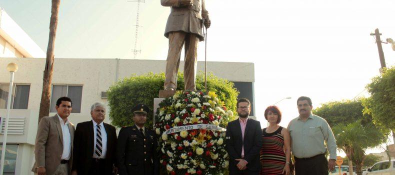 Conmemora Ayuntamiento el 94 aniversario luctuoso del General Salvador Alvarado