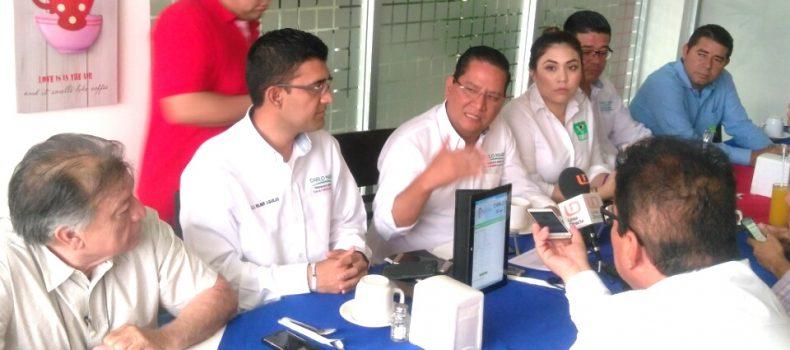 PRESENTA CARLO MARIO ORTIZ PLATAFORMA DIGITAL PARA RECIBIR PROPUESTAS