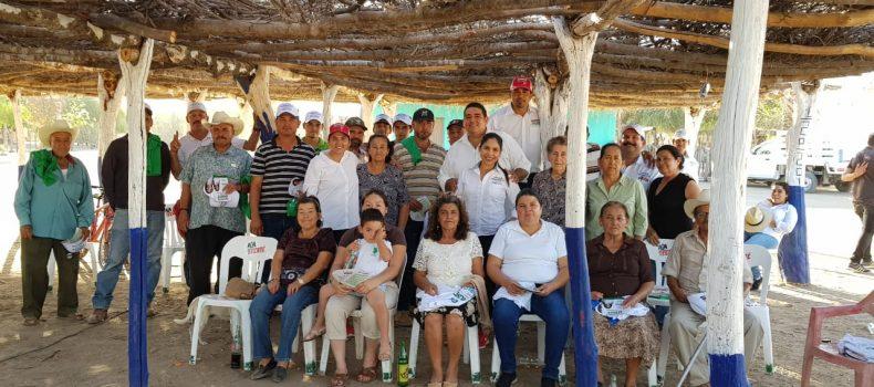 CAMINOS RURALES EN BUEN ESTADO, PRIORIDAD DE ÓSCAR CAMACHO