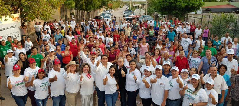 En mi administración no cerraremos la puerta del palacio municipal, habrá funcionarios de tiempo completo dando atención de calidad y calidez a los mocoritenses: Óscar Camacho