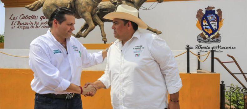 Óscar Camacho reafirma su compromiso de impulsar las tradiciones de los pueblos en Mocorito