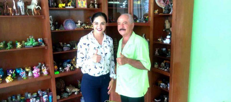 """SE REÚNEN AGLAEE MONTOYA Y """"CHENEL"""" VALENZUELA: INICIA PROCESO DE TRANSICIÓN"""