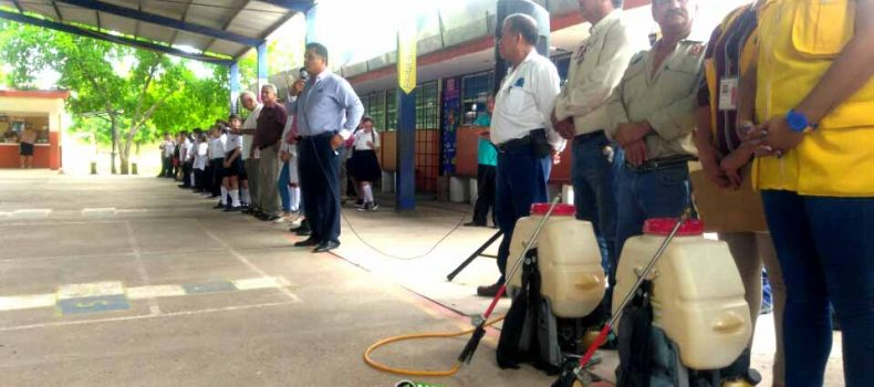 ACTIVAN EN ESCUELAS ACCIONES PREVENTIVAS CONTRA DENGUE, ZIKA Y CHICONGUNYA