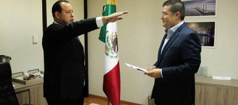 Rinde protesta Juan Ernesto Millán Pietsch como Vocal Ejecutivo de la CEAPAS
