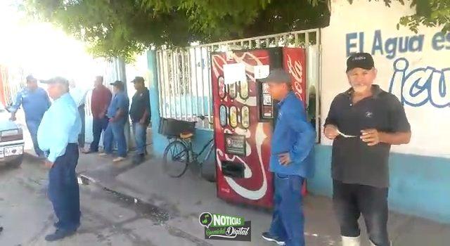 PARAN LABORES SINDICALIZADOS DE LA JUNTA DE AGUA POTABLE DE ANGOSTURA