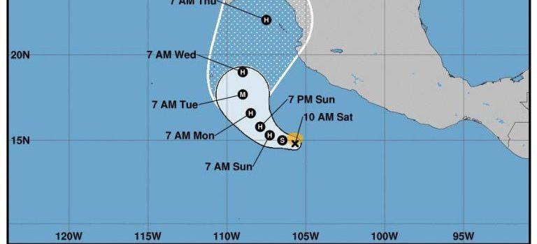 Se forma tormenta Willa y se perfila hacia sur de Sinaloa, podría ser Mazatlán