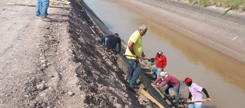 REPARA COMPAÑÍA ASEGURADORA DAÑOS EN EL CANAL PRINCIPAL HUMAYA