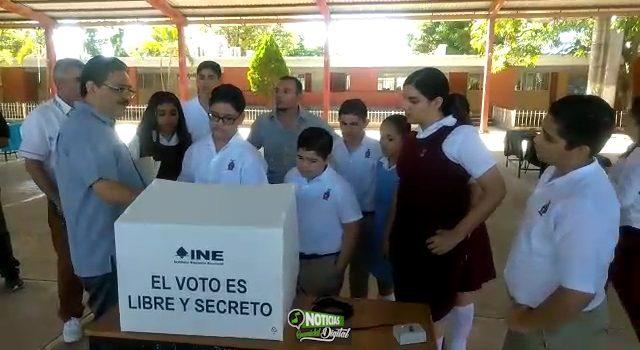 ACTIVA INE BOLETA ELECTRÓNICA CON SIMULACRO DE ELECCIÓN EN ESCUELAS