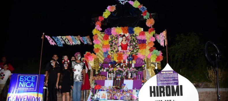 Se lleva a cabo Primer Magno Festival entre Catrinas y Lloronas