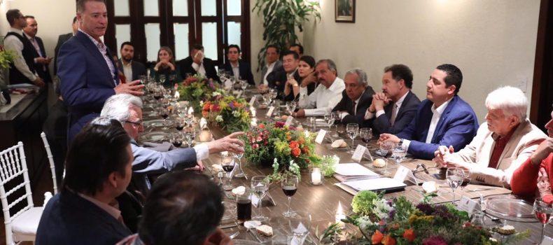 Acompaña Ortiz Sánchez al Gobernador para gestión del presupuesto Sinaloense