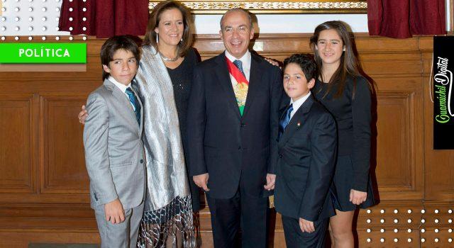 Felipe Calderón exige saber quién velará por su seguridad y la de su familia