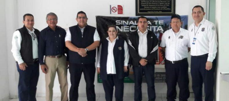 INSTALAN EN ANGOSTURA MÓDULO PARA ASPIRANTES A POLICÍAS