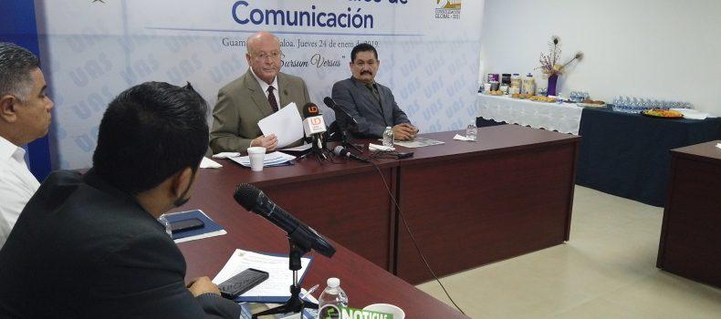 DESTACA RECTOR ESTABILIDAD EN LA UAS TRAS RETIRO DE ESTALLAMIENTO A HUELGA