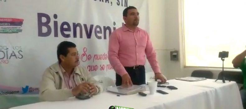 FORMALIZAN A MANUEL CEYCA COMO DIRIGENTE DEL PAS EN ANGOSTURA