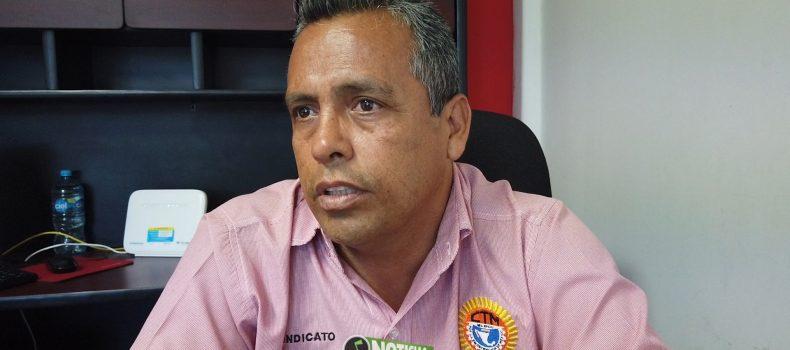 SINDICALIZADOS DE ANGOSTURA NO PROTESTAN CONTRA ALCALDESA: CONTRERAS