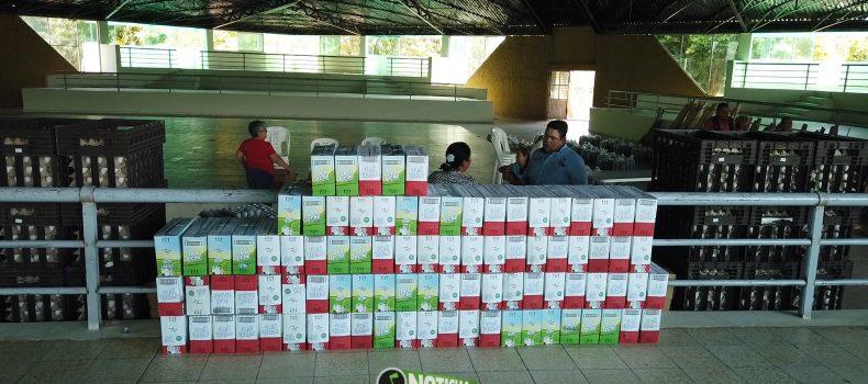 ENTREGAN MÁS 5 MIL PAQUETES A FAMILIAS DE ESCASOS RECURSOS